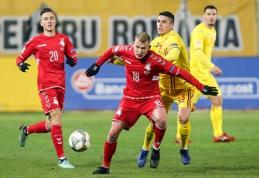 Lietuviai - sutriuškinti tuščiame rumunų stadione