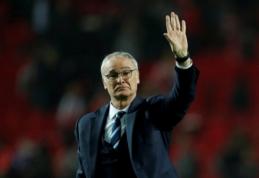 """""""Fulham"""" atleido S. Jokanovičių, jį keičia """"Leicester"""" stebukladarys C. Ranieri"""