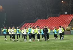 Lietuvos futbolininkai susirinko į rinktinės stovyklą
