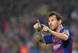 """L. Spalletti: """"Tai, ką daro Messi, negali padaryti joks kitas futbolininkas"""""""