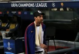 """L. Messi įtrauktas į komandos paraišką rungtynėms su """"Inter"""""""