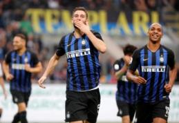 "R. Gagliardini vedamas ""Inter"" sutriuškino ""Genoa"""