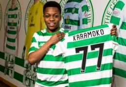 """15-metis """"Celtic"""" talentas pasirašė savo pirmąjį profesionalo kontraktą"""