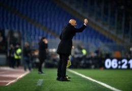 """L. Spalleti: """"Inter"""" ekipai trūksta šaltakraujiškumo"""""""