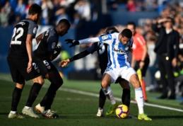 """Po pirmojo kėlinio dešimtyje likusi """"Sevilla"""" mačo pabaigoje išsigelbėjo prieš """"Leganes"""""""