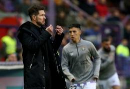 """D. Simeone nėra užtikrintas L. Hernandezo ateitimi """"Atletico"""" klube"""