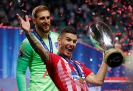 """""""Bayern"""" ketina sudrebinti žaidėjų rinką įsigydamas L. Hernandezą"""