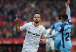 """""""Sevilla"""" grįžo į antrąją poziciją Ispanijoje, """"Huesca"""" išplėšė dramatiškas lygiąsias"""