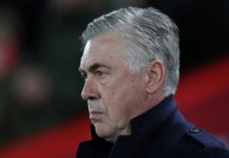 """C. Ancelotti: """"Gaila, kad VAR sistema bus įdiegta jau mums iškritus iš Čempionų lygos"""""""
