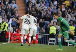 """Madrido """"Real"""" skambia pergale žengė į Karaliaus taurės aštuntfinalį"""