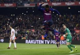 """""""Barca"""", """"Atletico"""" ir """"Villarreal"""" skambiai prasibrovė į Karaliaus taurės aštuntfinalį"""