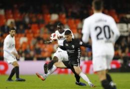 Ispanijoje paaiškėjo pirmieji keturi Karaliaus taurės aštuntfinalio dalyviai
