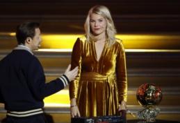 """Įžūlus klausimas """"Ballon d'Or"""" apdovanojimų ceremonijoje papiktino visuomenę"""