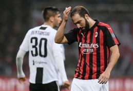 """""""Milan"""" nusprendė neįsigyti G.Higuaino"""