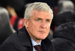 """Prastai sezoną pradėjęs """"Southampton"""" atleido M. Hughesą"""