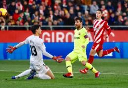 """""""Barcelona"""" išvykoje įrodė pranašumą prieš """"Girona"""" futbolininkus"""