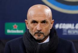 """Cedrico įsigijimą patvirtinęs L. Spalletti: """"Vrsaljko gali sugrįžti į """"Atletico"""""""