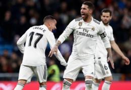 """Karaliaus taurė: S. Ramoso vedamas """"Real"""" įgijo pranašumą prieš """"Gironą"""""""