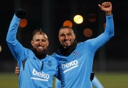"""""""Barcelona"""" mačui su """"Sevilla"""" registravo K-P. Boatengą, L. Messi suteiktas poilsis"""