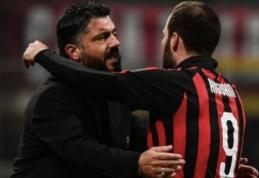 """G. Gattuso: """"Mes jau susitaikėme su Higuaino sprendimu"""""""