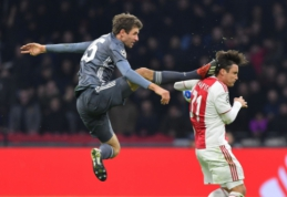 """T. Mulleriui skirta diskvalifikacija: vokietis praleis abi dvikovas prieš """"Liverpool"""""""