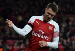"""A. Ramsey pasiekė susitarimą su """"Juventus"""" klubu"""