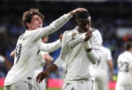 """Karaliaus taurės aštuntfinalis: Madrido """"Real"""" pergalė ir """"Atletico"""" lygiosios"""