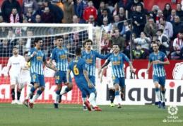 """A. Griezmanno šūvis atnešė tašką """"Atletico"""" ekipai rungtynėse su """"Sevilla"""""""