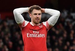 """""""Juventus"""" patvirtino susidomėjimą A. Ramsey"""