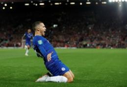 """R. Martinezas: """"Nežinau, ar Hazardui vertėtų palikti """"Chelsea"""""""