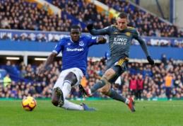 """""""Everton"""" namuose nusileido """"Leicester"""" ekipai"""