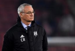 """Oficialu: """"Fulham"""" atleido C. Ranieri"""