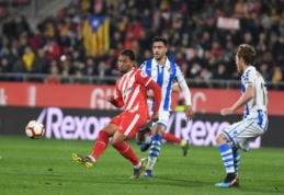 """""""Girona"""" ir """"Real Sociedad"""" susirėmimas baigėsi be įvarčių"""