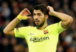 """E. Valverde užstoja L. Suarezą: """"Turime būti kantrūs"""""""