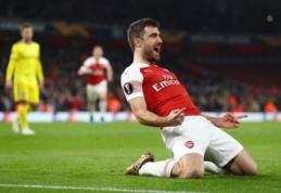 """EL: """"Arsenal"""" atsirevanšavo BATE, """"Krasnodar"""" netikėtai eliminavo """"Bayer"""" ekipą"""