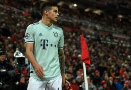J. Rodriguezas užsiminė apie sugrįžimą į Madridą