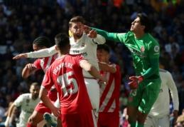 """Antrajame kėlinyje užmigusi """"Real"""" komanda patyrė nesėkmę prieš """"Gironą"""""""