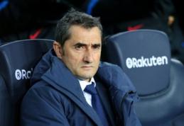 """E. Valverde: """"Nebus taip, kad kiekvienose rungtynėse žaisime nuostabų futbolą"""""""