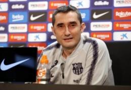 "Oficialu: ""Barcelona"" pratęsė kontraktą su E.Valverde"