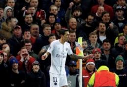 """A. Di Maria po įvarčio """"Man Utd"""" fanus užplūdo necenzūriniais žodžiais"""