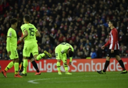 """Intriga dėl titulo grįžta: """"Barcelona"""" vėl prarado taškus """"La Liga"""" pirmenybėse"""