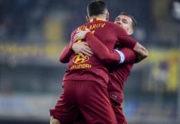 """""""Roma"""" išvykoje sutriuškino """"Chievo"""" futbolininkus"""