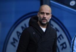 """P. Guardiola įsitikinęs, kad dėl """"Premier"""" lygos trofėjaus kovoja ne tik """"Man City"""" ir """"Liverpool"""""""