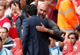 """U. Emery: """"Guardiola yra geriausias treneris, kurį man teko analizuoti"""""""