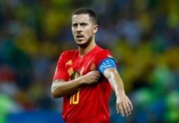 T. Courtois į Madridą kviestų E. Hazardą, o ne Neymarą