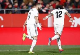 """Formoje esantis K. Benzema atvedė """"Real"""" į Karaliaus taurės pusfinalį"""