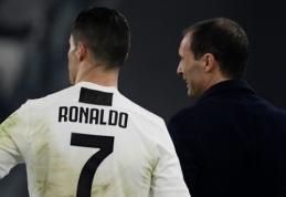 """M. Allegri: """"Ronaldo supranta, kad gali praleisti mačą su """"Ajax"""""""