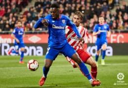 """""""Athletic"""" pakilo į aštuntąją vietą """"La Liga"""" pirmenybėse"""