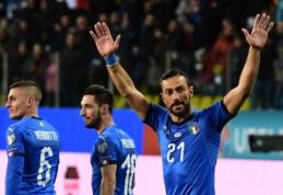 "Į Italijos futbolo istoriją įsirašęs F. Quagliarella: ""Nejaučiu, jog man 36-eri"""
