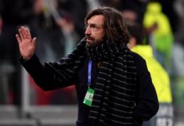 """A. Pirlo: """"Manau, kad """"Juventus"""" komandai pasisekė su ČL burtais"""""""